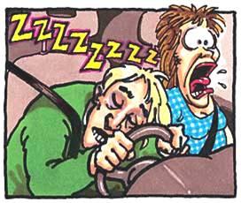 uykusuz araç kullanmamalıyız